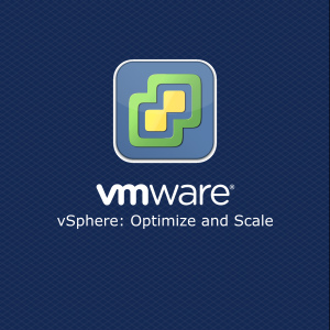 VMware vSphere Optimize and Scale